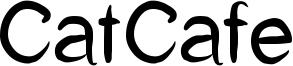 CatCafe Font