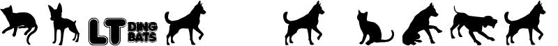 Cats vs Dogs LT Font