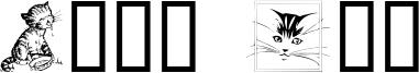 Catt Art Font