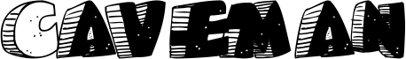 Caveman Font