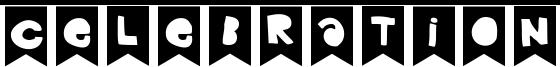 Celebration Font