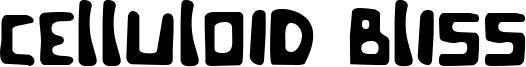 Celluloid Bliss Font