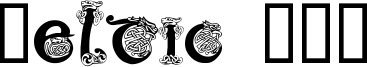 Celtic 101 Font