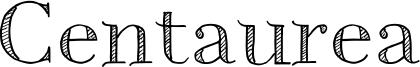 Centaurea Font