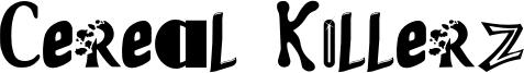 Cereal Killerz Font