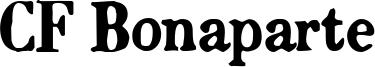 CF Bonaparte Font