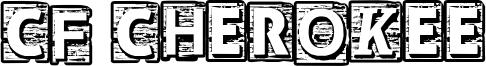 CF Cherokee Font