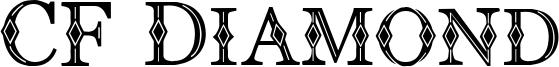 CF Diamond Font