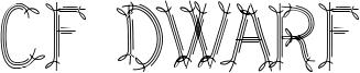 CF Dwarf Font