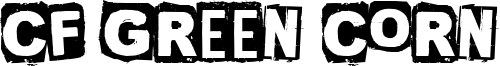CF Green Corn Font