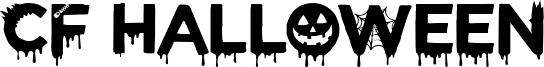 CF Halloween Font