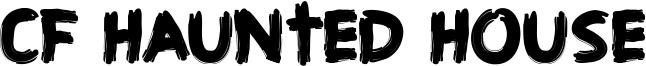 CF Haunted House Font