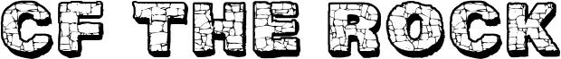CF The Rock Font