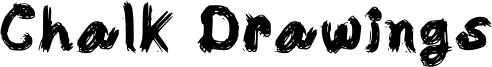 Chalk Drawings Font