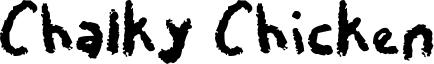Chalky Chicken Font