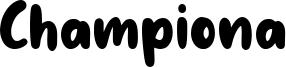 Championa Font