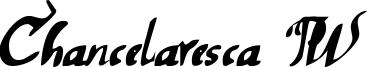 Chancelaresca PW Font