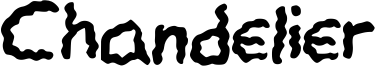 Chandelier Font