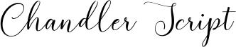 Chandler Script Font