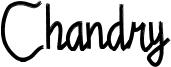 Chandry Font