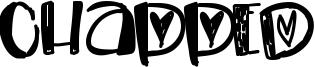 Chapped Font