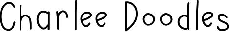 Charlee Doodles Font