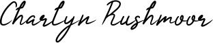 Charlyn Rushmoor Font