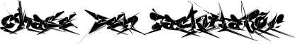 Chase Zen Jackulator Font