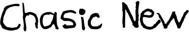 Chasic New Font