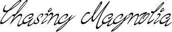 Chasing Magnolia Font
