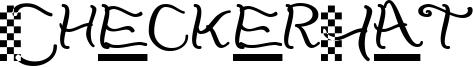 CheckerHat Font
