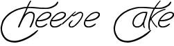 Cheese Cake Font