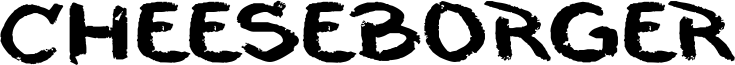 Cheeseborger Font