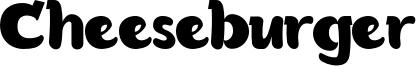 Cheeseburger Font