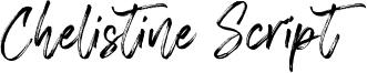 Chelistine Script Font