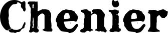 Chenier Font