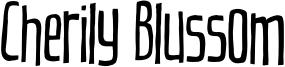 Cherily Blussom Font