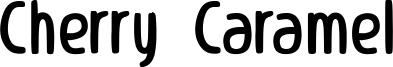 Cherry Caramel Font