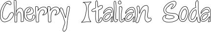 Cherry Italian Soda Font