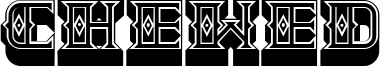 Chewed Font