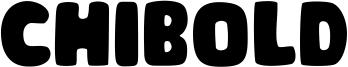 Chibold Font