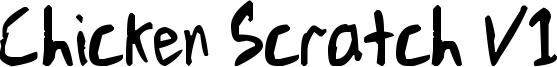 Chicken Scratch V1 Font