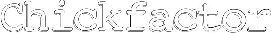 Chickfactor Font