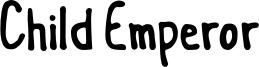 Child Emperor Font