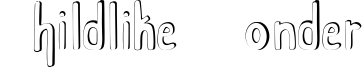 Childlike Wonder Font