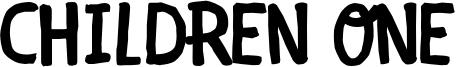 Children One Font