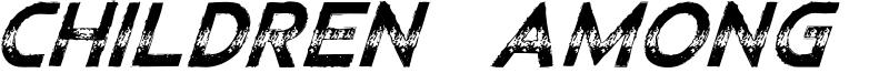 ChildrenAmongLions-Italic.otf