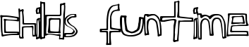 Childs Funtime Font