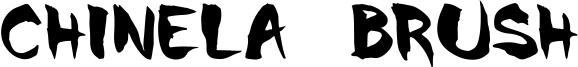 Chinela Brush Font