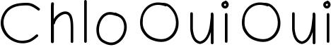 ChloOuiOui Font